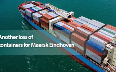 Another loss of containers for Maersk Eindhoven