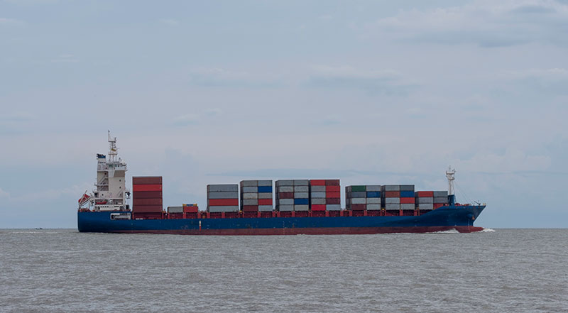 container-ship-on-the-ocean