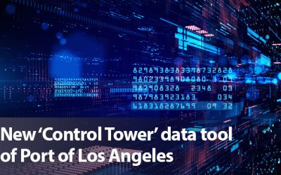 New 'Control Tower' data tool of Port of Los Angeles
