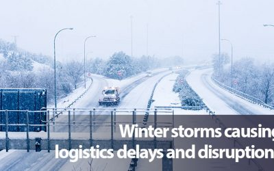 Texas winter storms causing logistics delays and disruptions
