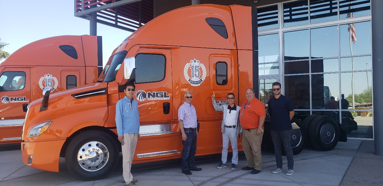 NGL's 15th Anniversary Edition Truck-1