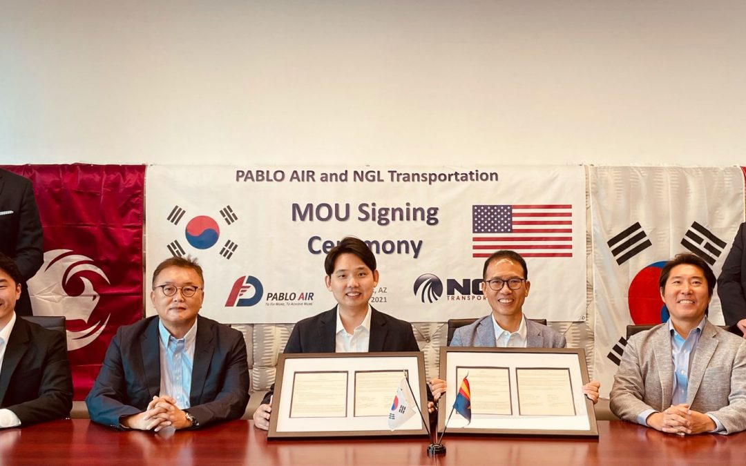 MOU with PABLO AIR