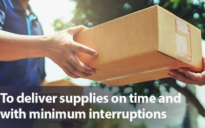 Logistic operators are investing money to speed up the flow of goods