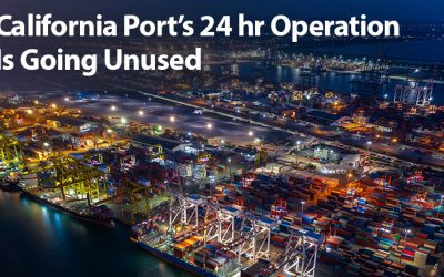 California Port's 24-Hour Operation Is Going Unused