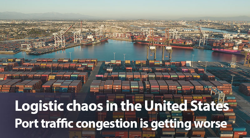 Logistic chaos in the United States