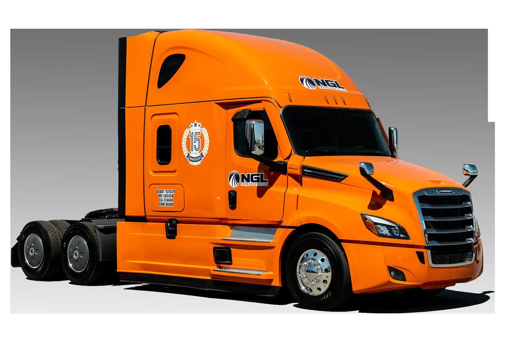 NGL-Transportation-15th-anniversary edition truck